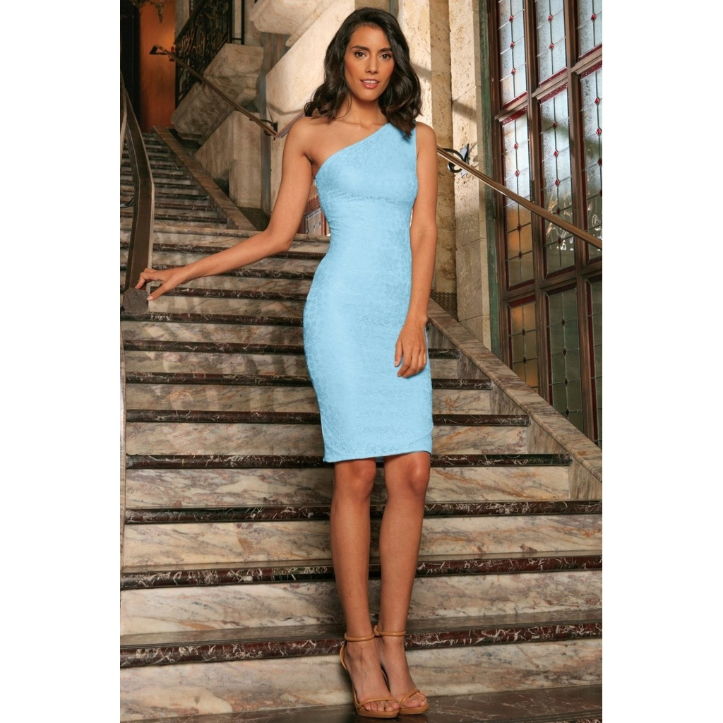 Pineapple clothing Baby Blue Bodycon Dress