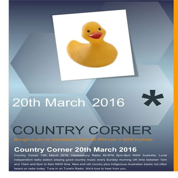 Country Corner 20th March 2016