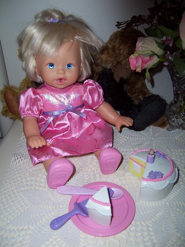 Fisher - Mattel Dolls Little Mummy Happy Birthday