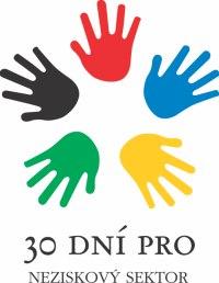 logo kampaně 30 dní pro neziskový sektor