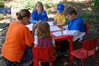 ve stánku RC Havránek si děti mohly třeba kreslit