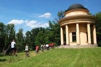 cykloprohlídka areálu veltruského zámku