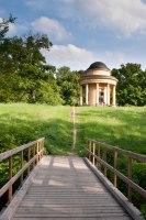 pavilón Přátelství v zámeckém parku Veltrusy