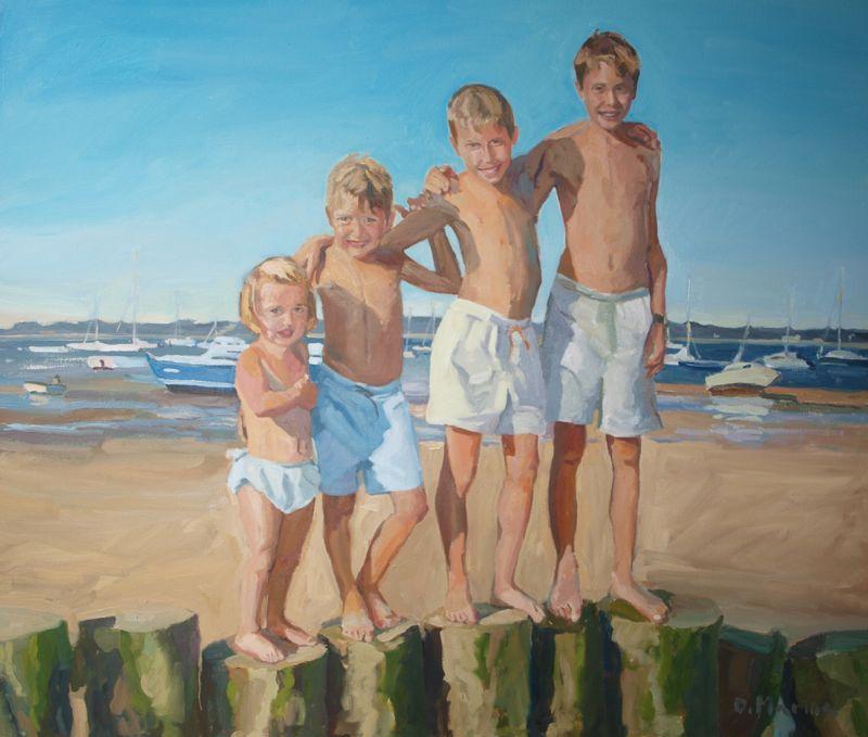 dolo marina  pintura  retratos