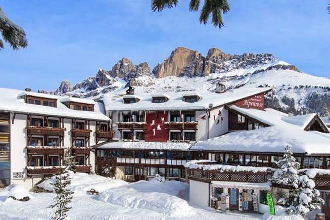 Sporthotel Alpenrose im Winter