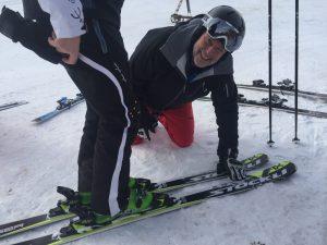 Skitest mit Ralf Kühlkamp