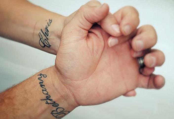 La Maldición De Los Tatuajes De Pareja Dolor Dulce Dolor