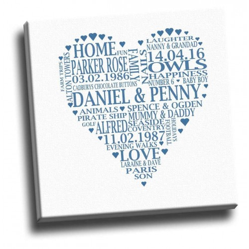 your personalised words in