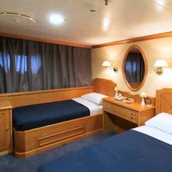 Small Sized Sofas Go Fabric Recliner Corner Sofa The 'panorama Ii' Sail Cruiser Ship - Travel In Greece ...