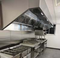 Extraction Canopy & Air 8 UK 1.0m Wide Commercial Kitchen ...