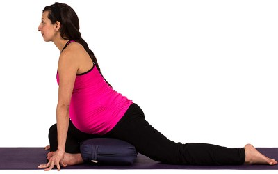 Yoga for Pregnancy | Pigeon Pose
