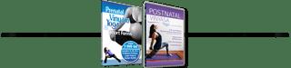 Prenatal Vinyasa Yoga 2 Dvd set