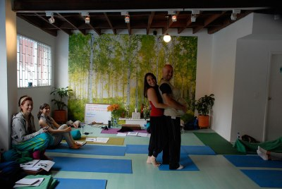 Prenatal Yoga for Men!