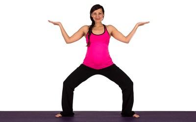 Yoga for Pregnancy | Goddess Pose