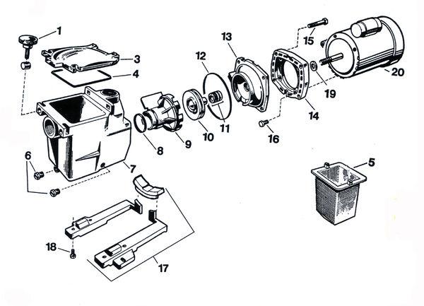 Hayward Northstar Pump Diagram, Hayward, Free Engine Image