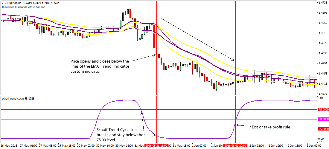 Cycle identifier forex system