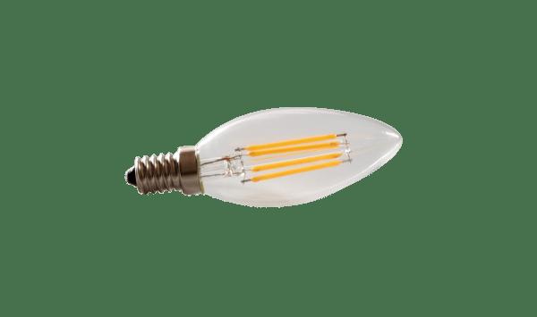 Lampadina LED E14 filamento 4W