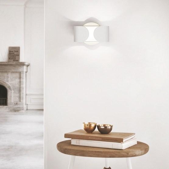 Applique LED Candian da interni applicato nella parete di casa