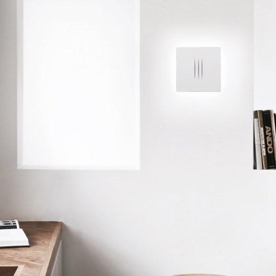 Design LED Applique wall light Square