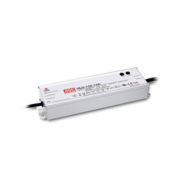 Dimmable LED driver 150W 12V 24V MeanWell IP67