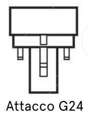 attacco lampadina g24