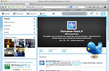 Pages Twitter