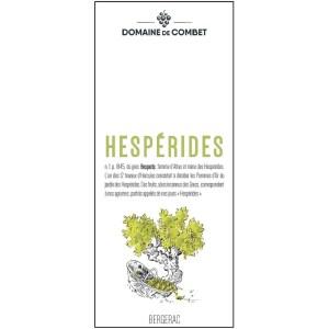 """BERGERAC BLANC 2019 – Cuvée """"Hespérides"""""""