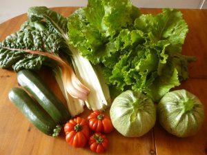 Légumes du jardin : une belle tarte au vert de blette en perspective!