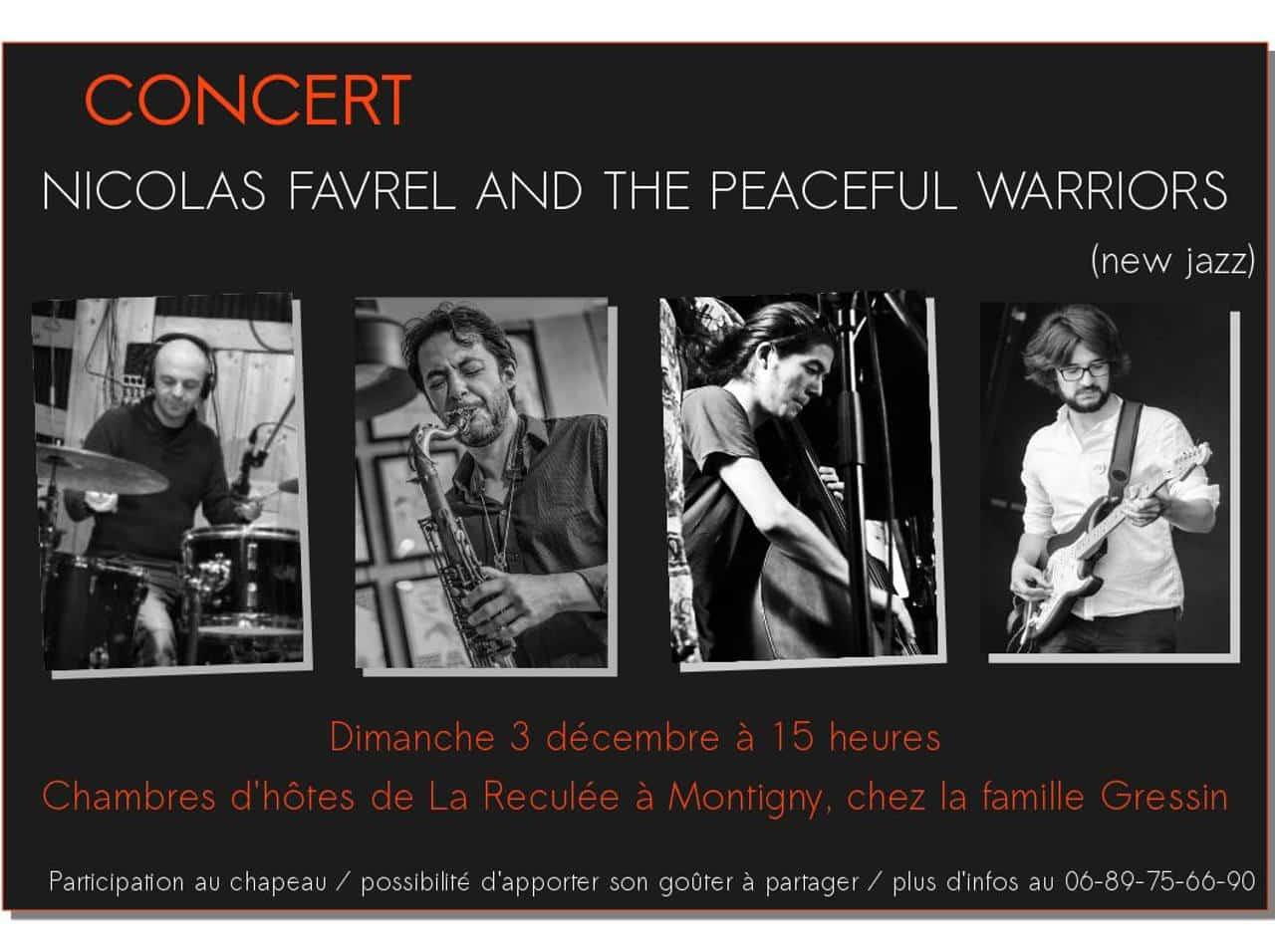 concert de jazz au Domaine de La Reculée