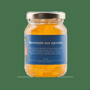 marmelade aux agrumes