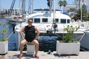 Тунис, Порт-эль-Кантау, Яхты отдых Валерий Домашенко
