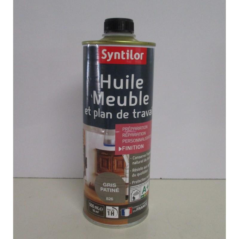 huile meuble et plan de travail syntilor 500ml en promotion
