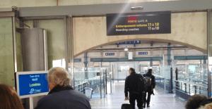 Gare du Nord - přístup ke gate