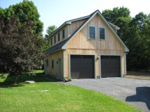 Garage with Studio above Plans