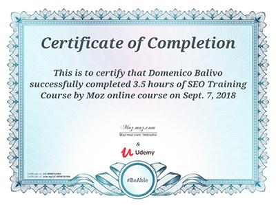 Moz-Training