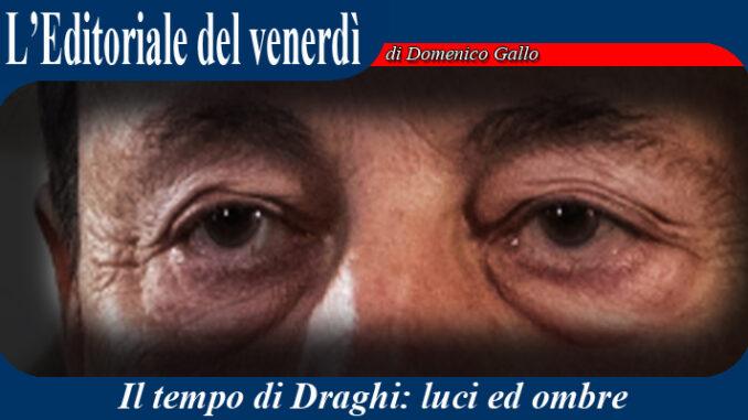 La Democrazia al tempo di Draghi