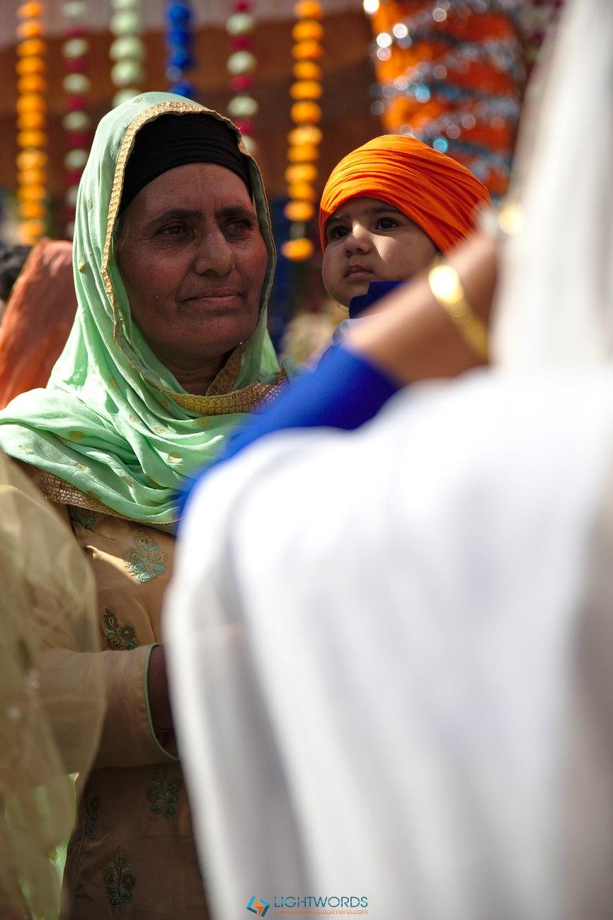 Dastar, Chunni e Guru volanti