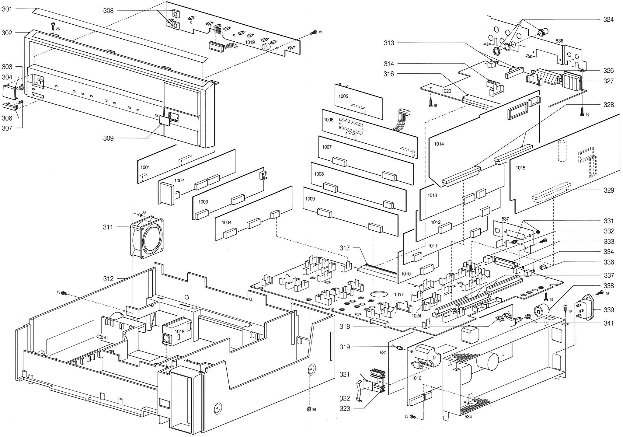 Philips VP415 – Disassembly Guide