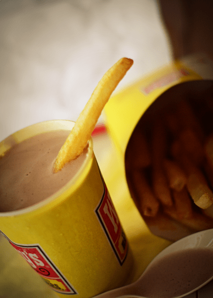 Frosty and French Fries