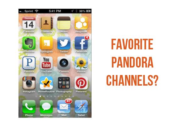 My favorite Pandora stations