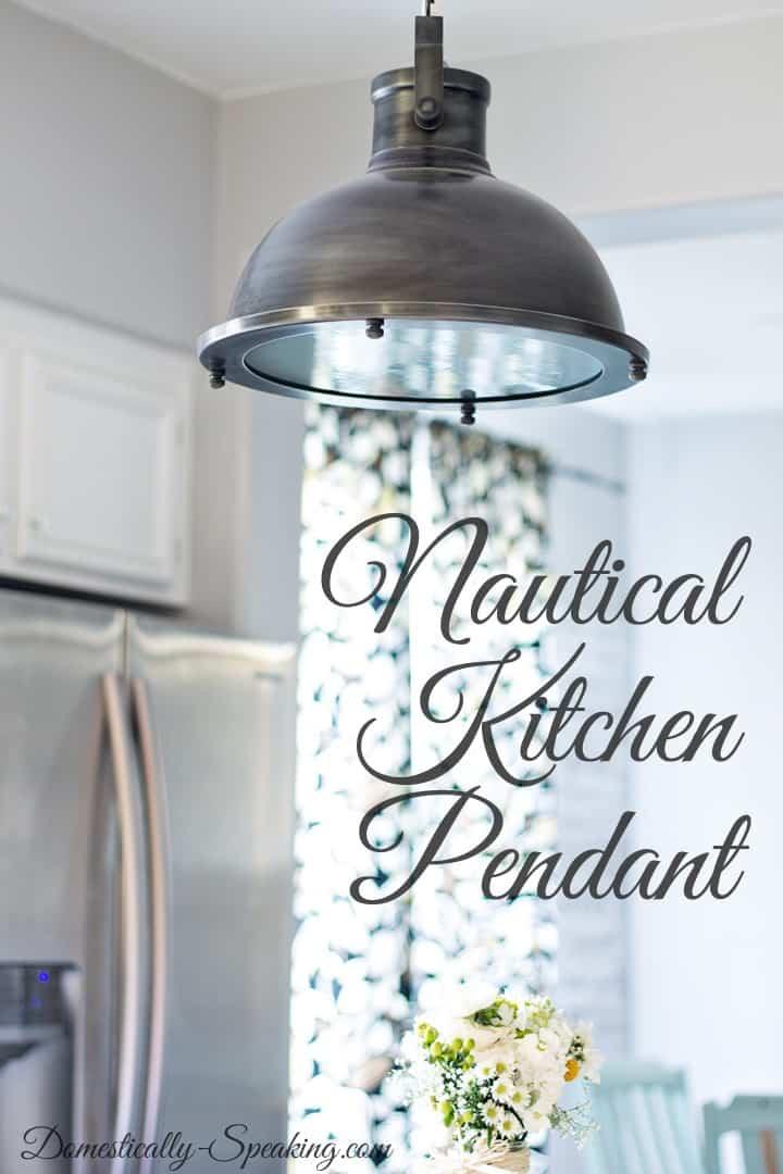 Nautical Pendant Lights Kitchen Island