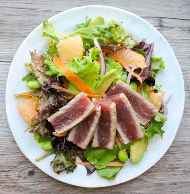 ahi-tuna-salad-with-citrus-ginger-dressing