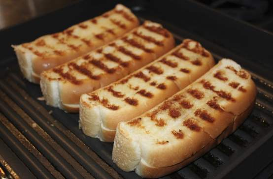 Image result for toasted hot dog buns