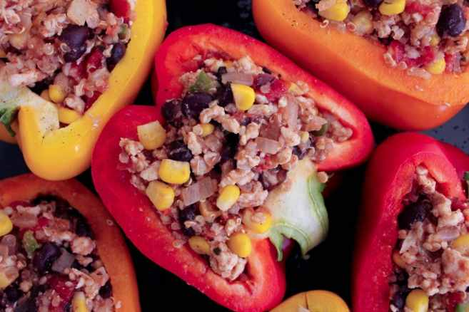 Turkey-and-quinoa-stuffed-bell-peppers-6
