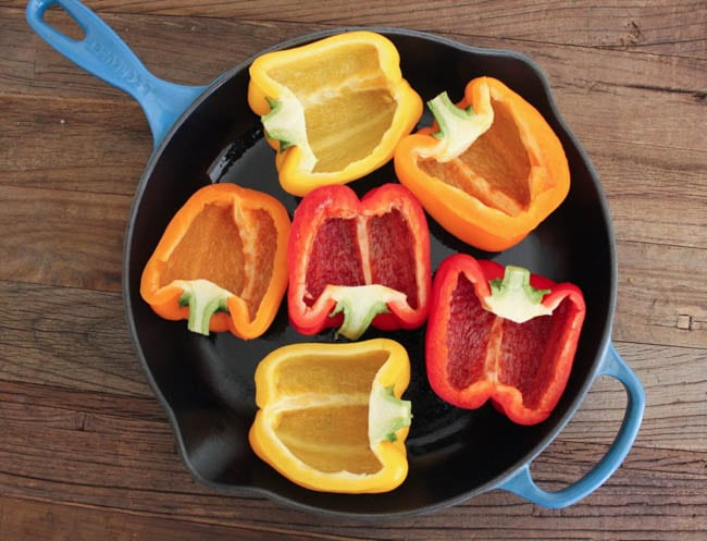 Turkey-and-quinoa-stuffed-bell-peppers-step-1