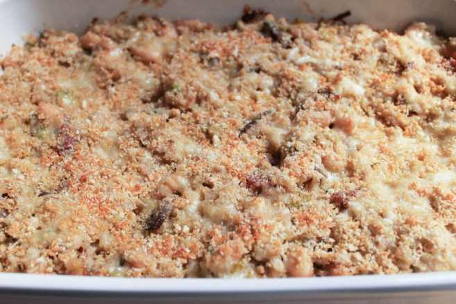 Mushroom-White-Bean-and-Brown-Rice-Casserole-With-Bacon-and-Gruyere-step-11