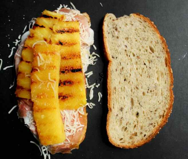 Hawaiian-Grilled-Cheese-With-Grilled-Pineapple-Prosciutto-and-Basil-step-6