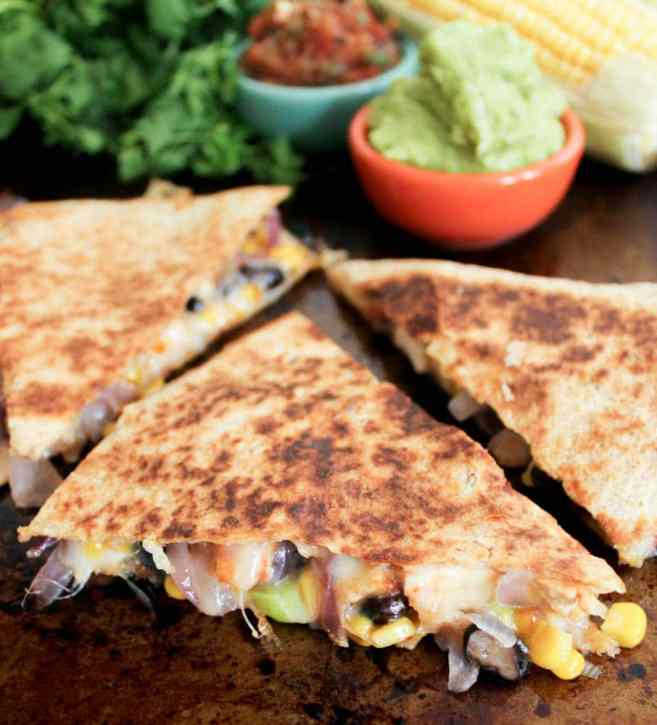 Spicy-Chicken-Quesadillas-with-Corn-Black-Beans-and-Caramelized-Onions-3