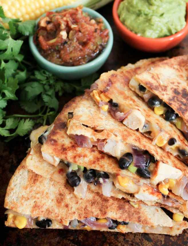 Spicy-Chicken-Quesadillas-with-Corn-Black-Beans-and-Caramelized-Onions-4