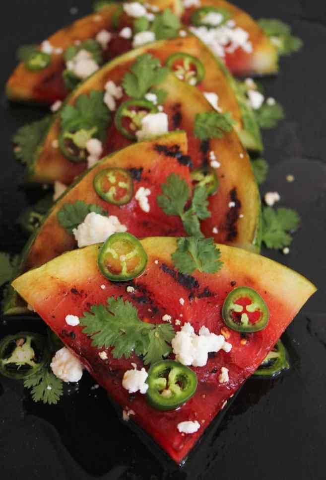 Grilled-Watermelon-with-Jalapeños-Feta-and-Honey-7